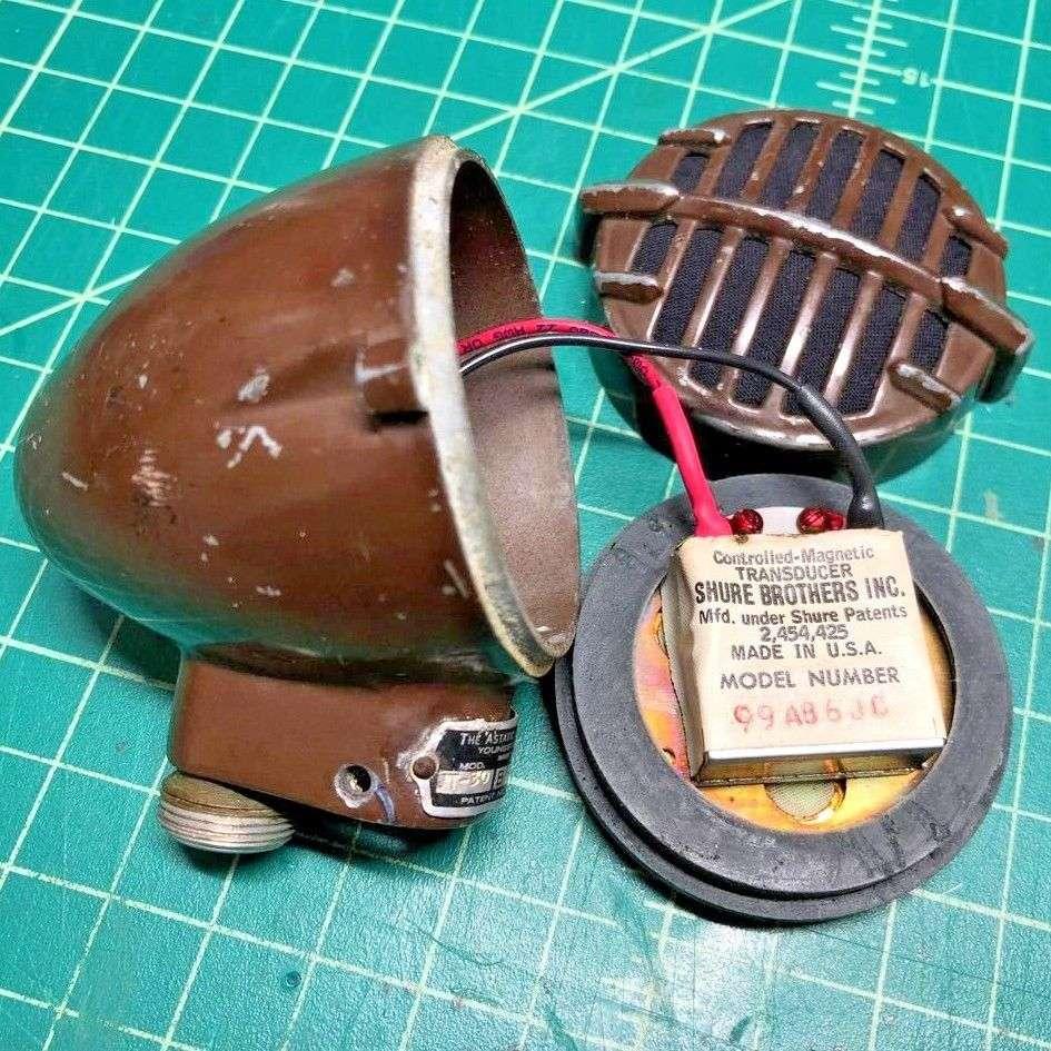 30 J T Astatic Jt Wiring Diagram Vintage Bullet Harp Mic Shure Element